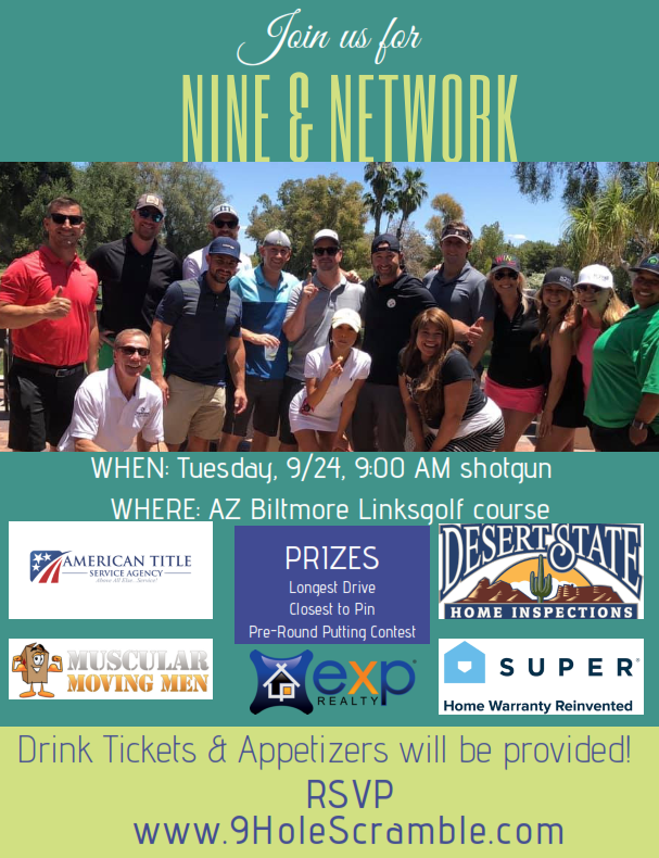 Golf and Grow has the best 9-hole networking scramble in Arizona