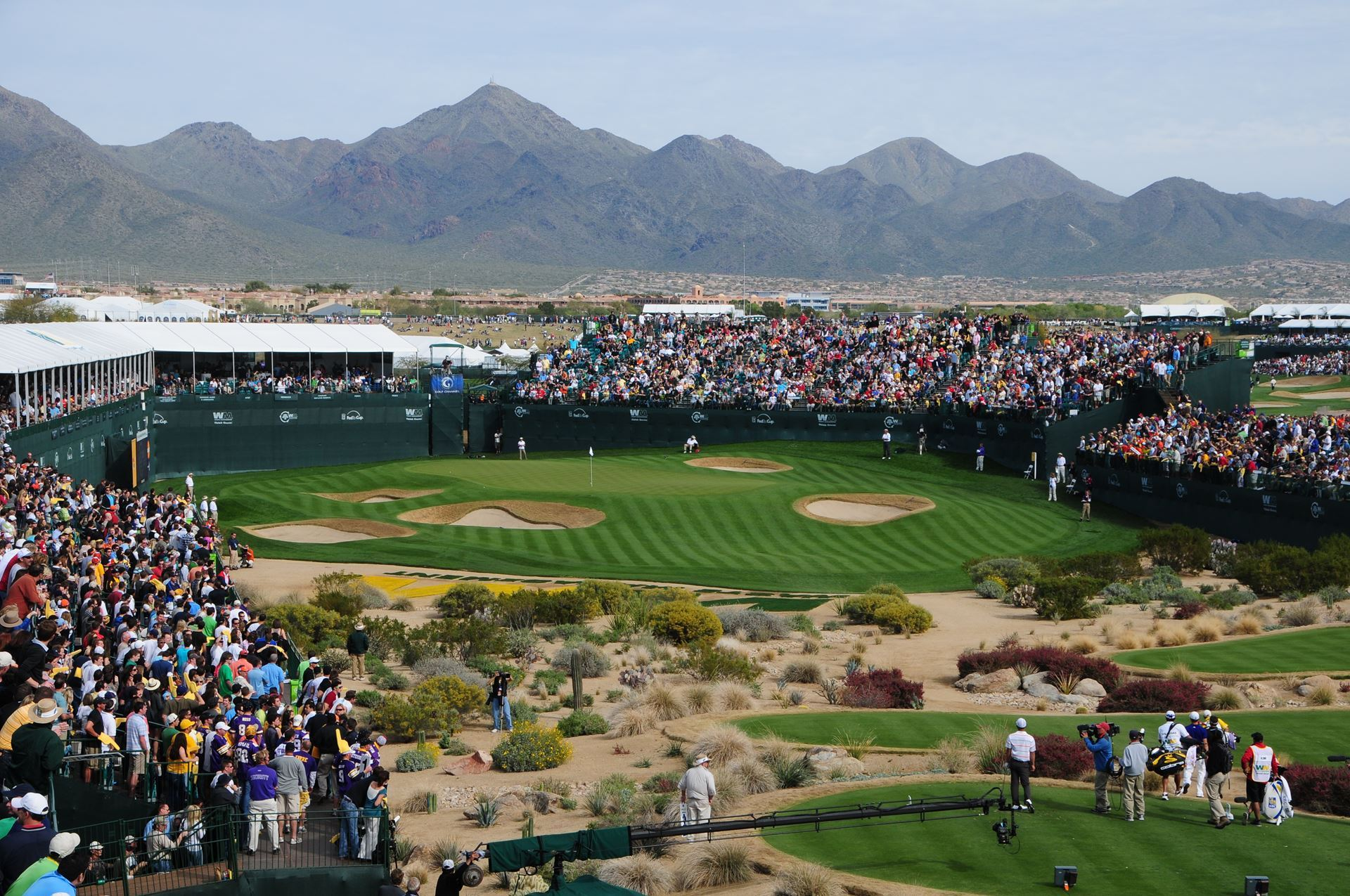 Play like a pro at TPC Scottsdale stadium course with Golf & Grow